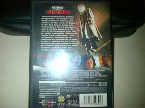 dvd cuentos historias de ultratumba dark stories 2 horror