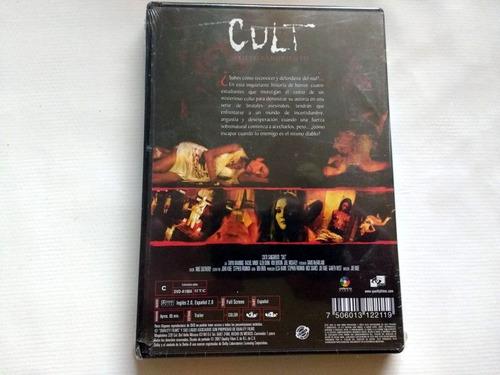 dvd - cult: culto sangriento (nuevo) película