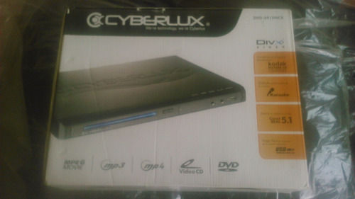 dvd cyberlux con puerto usb