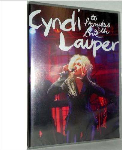 dvd cyndi lauper - to memphis, with love lacrado