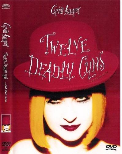 dvd cyndi lauper - twelve deadly cyns (videoclipes)
