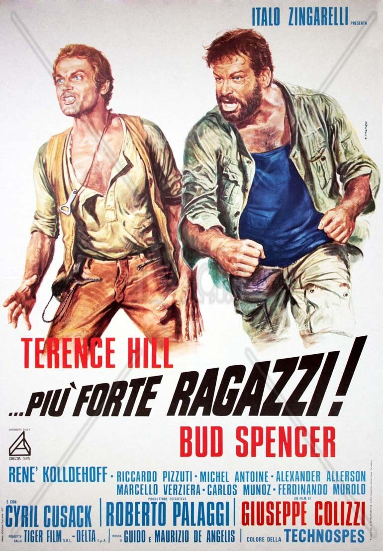 Filmes Bud Spencer E Terence Hill Dublado in dvd dá-lhe duro, trinity! legendado bud spencer terence hill - r