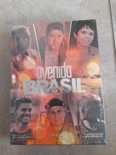 dvd da novela avenida brasil - lacrado!