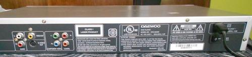 dvd daewoo reproductor