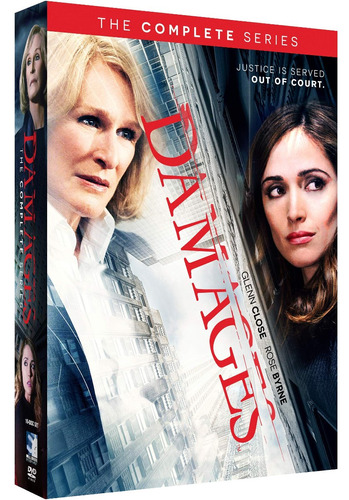 dvd : damages: complete series (dvd)