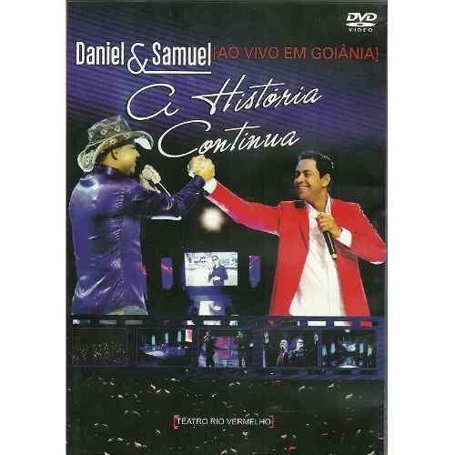 dvd daniel e samuel - a história continua