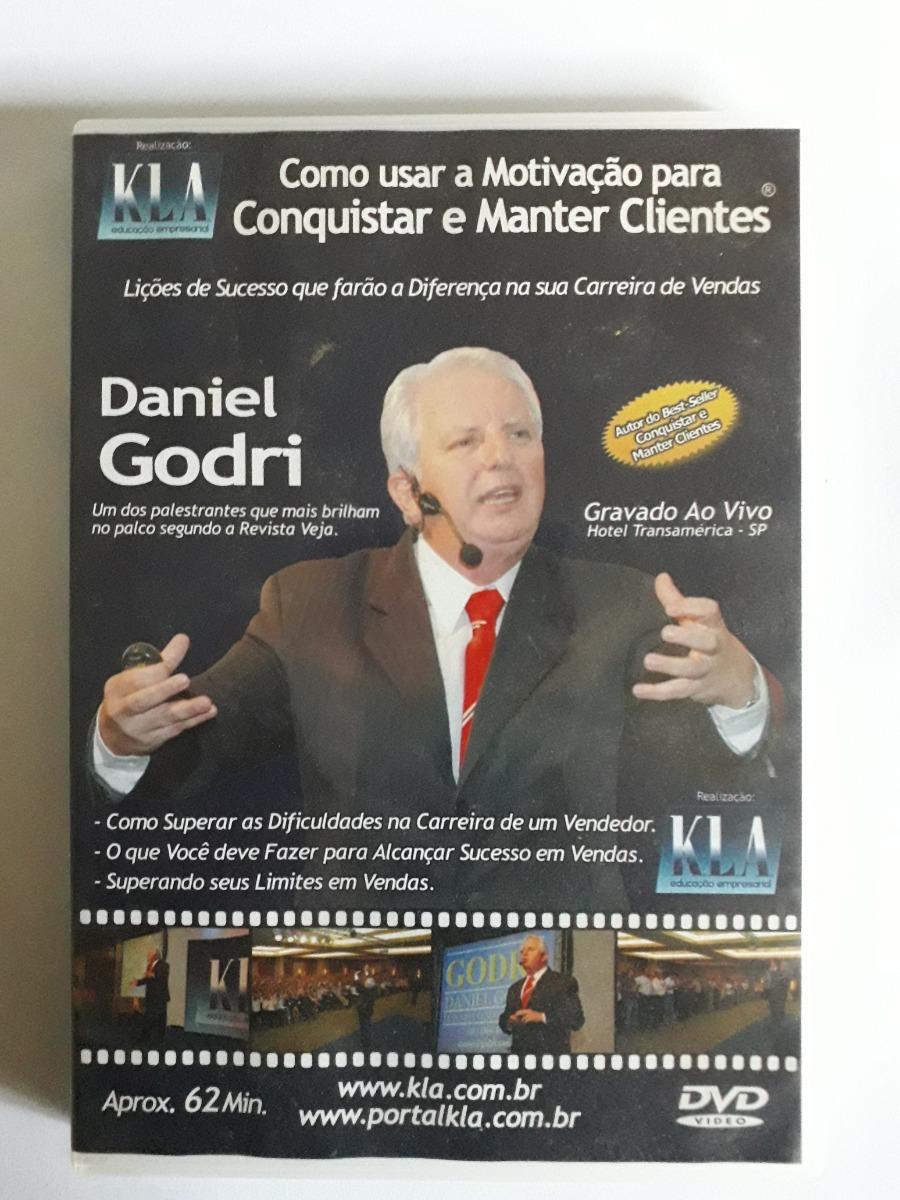 Dvd Daniel Godri Como Usar A Motivação Para Conquistar