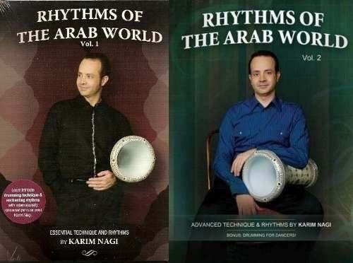 dvd danza arabe aprende ritmos & percusion derbake, riq, def