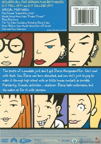 dvd : daria: the complete animated series (full frame, d...