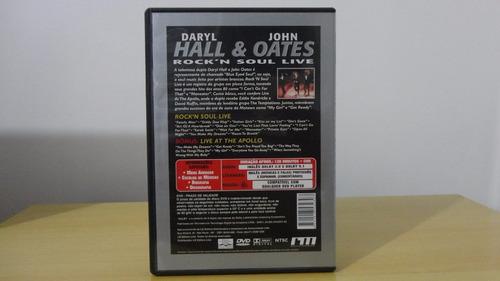 dvd daryl hall & john oates - rock'n soul live  'original'