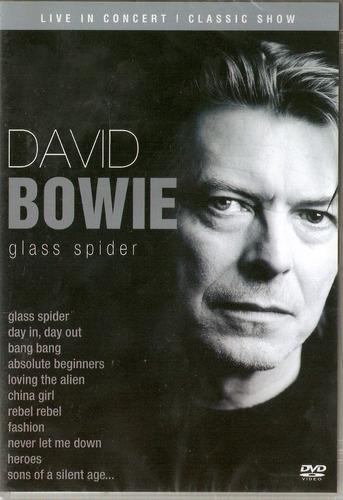 dvd david bowie - glass spider - novo***