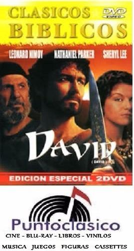 dvd - david - cine religioso - biblico