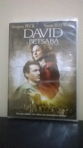 dvd david e betsabá - original - lacrado