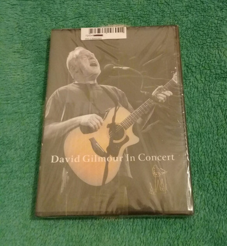 dvd david gilmour in concert.floyd.waters.wright.genesis