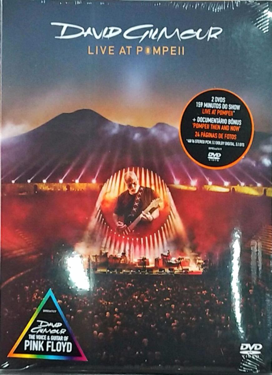 dvd david gilmour live at pompeii 2017 dvd duplo lacra r 75 00 em mercado livre. Black Bedroom Furniture Sets. Home Design Ideas