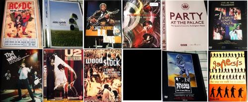 dvd de ac/dc no bull dolby 5.1 + afiche 144 min 1996 permuto