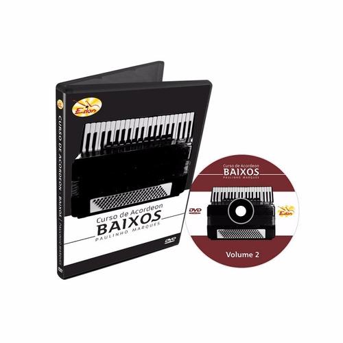 dvd de acordeon - baixo vol.02