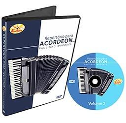 dvd de acordeon - repertório vol.02