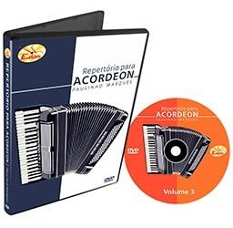 dvd de acordeon - repertório vol.03