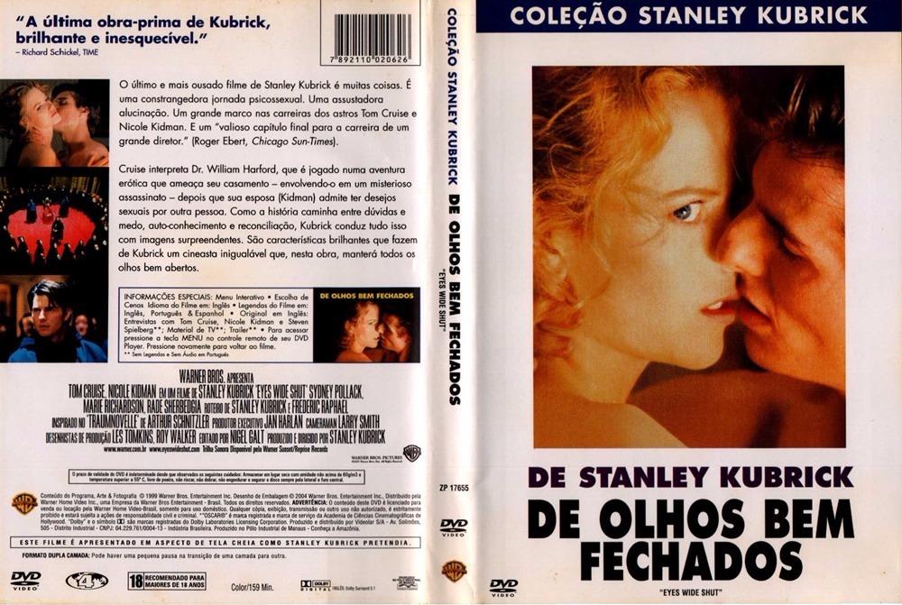 Dvd De Olhos Bem Fechados (1999) - R$ 50,60 em Mercado Livre