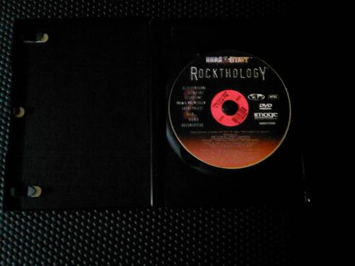 dvd de rockthology hard and heavy