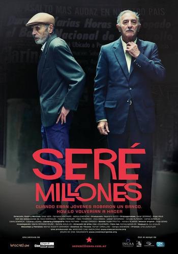 dvd de  seré millones , el documental más visto del año 2014