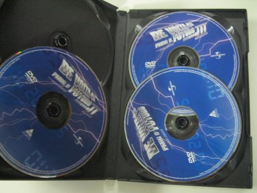 dvd  =  de volta para o futuro - 3 discos