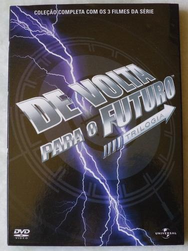 dvd de volta para o futuro box com 3 dvds