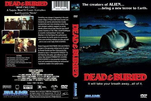 dvd dead & buried duplo os mortos vivos