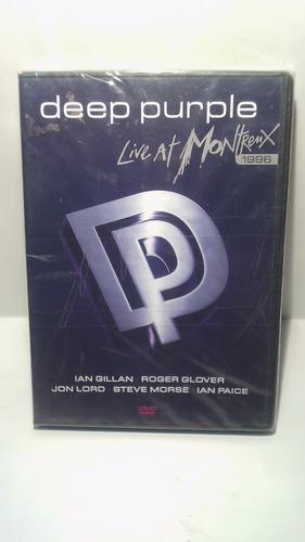 dvd deep purple live at montreux 96´ - dvd original