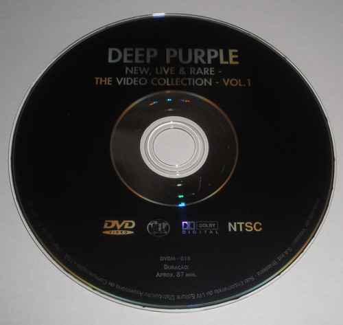 dvd deep purple new, live & rare the video collection vol. 1