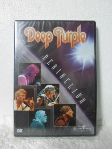 dvd deep purple - perihelion - lacrado - frete 8,00