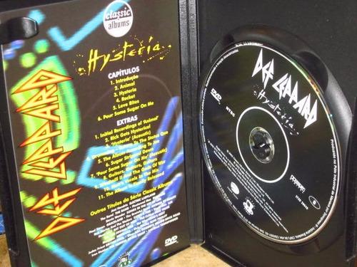 dvd def leppard - hysteria (2002)