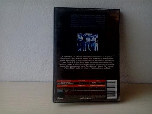 dvd def leppard rock brigade - promoção
