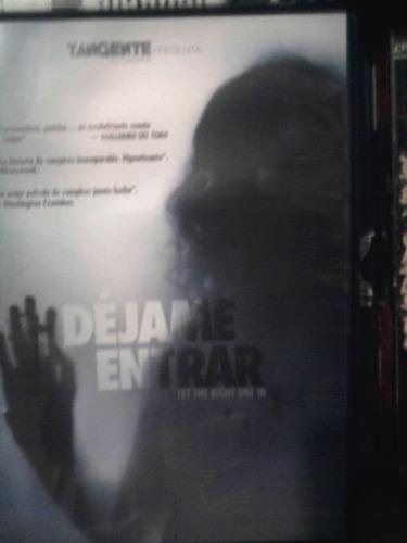 dvd dejame entrar remake terror gore vampiros