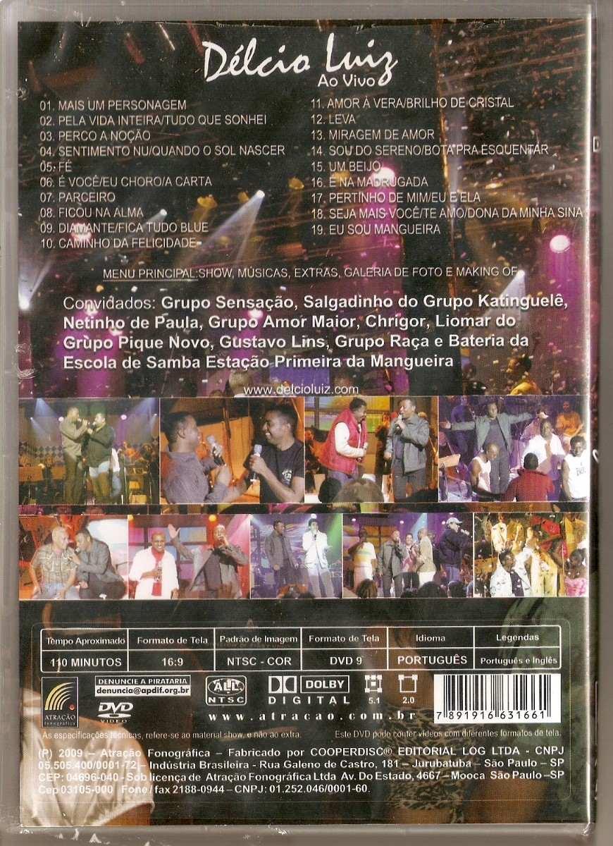 dvd delcio luiz ao vivo