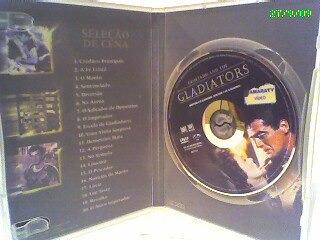 dvd demetrius e os gladiadores (usado)