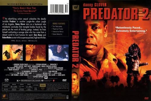 dvd depredador parte 2 predator alien danny glover conchita