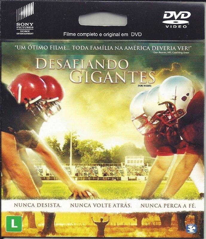 filme desafiando gigantes dvd-r