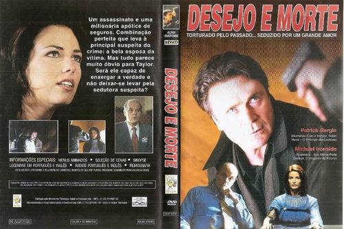 dvd desejo e morte - patrick bergin - cinema canadense