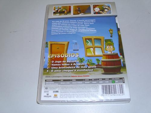 dvd desenho chaves bricadeira de mau gosto volume 2
