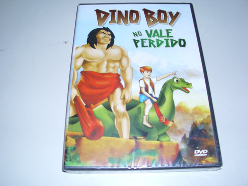dvd desenho dino boy no vale perdido