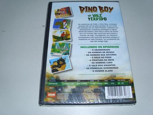 dvd desenho dino boy no vale perdido ! original !