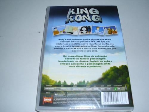 dvd desenho king kong ! original !