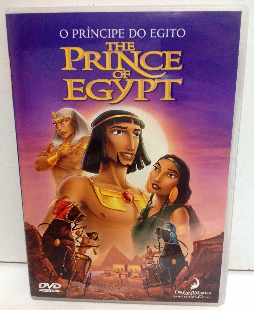 Dvd Desenho O Principe Do Egito Original Perfeito Estado R 60