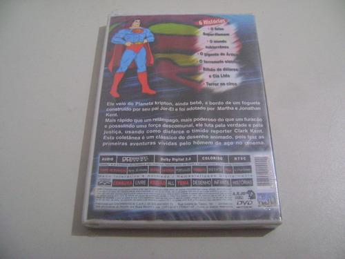 dvd desenho super homem com 06 episódios