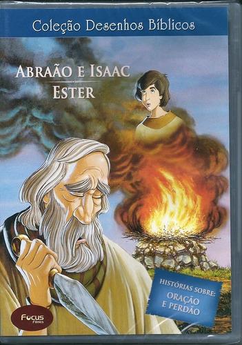 dvd desenhos bíblicos vol 04 abrão e isaac i ester .biblos