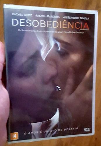 dvd desobediência - sebastián lelio (lacrado, frete 12) lgbt
