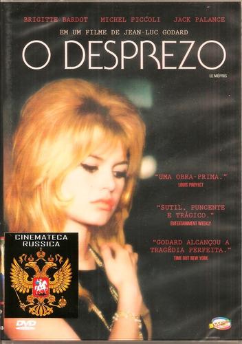 dvd desprezo godard brigitte bardot michel piccoli   1963 +