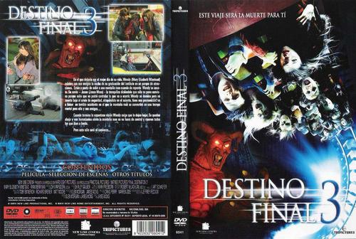 dvd destino final 3 final destination 3 tampico envio grati